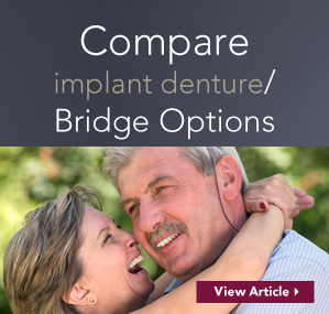dental implant denture - bridge options